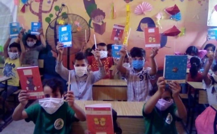 Syrian refugees in School October 2020 19